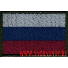 Шеврон Флаг РФ тактический