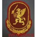 Нарукавный знак по принадлежности к ЦА ВНГ России