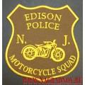 Нашивка Edison police motorcycle squad
