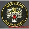 Нашивка с термоклеем Nato tigers