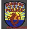 Нашивка Sunrise police