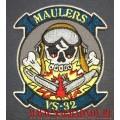 Нашивка с термоклеем Maulers VS 32