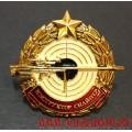 Квалификационный нагрудный знак Инструктор снайпер