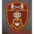 Шеврон сотрудников вневедомственной охраны Приволжского округа войск национальной гвардии РФ