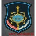 Шеврон 153 ГИЦИУ КС имени Титова для парадной формы