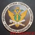 Магнит с эмблемой Федеральной службы судебных приставов