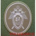 Нарукавный знак сотрудников СКР для полевой формы с липучкой