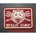Нашивка Wild cat