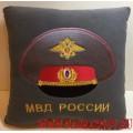 Подушка-сувенир МВД России