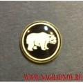 Фрачный значок с эмблемой Сибирского РК ВВ МВД России