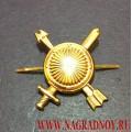 Эмблема на погоны и петлицы Ракетных войск стратегического назначения