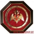 Настенные часы с эмблемой Росгвардии