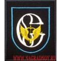 Нарукавный знак военнослужащих ЦСН Сенеж для офисной формы