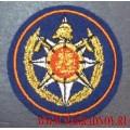 Нашивка на фуражку эмблема Мособлпожспас