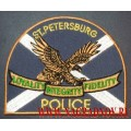 Нашивка полиция ST. PETERSBURG штат Флорида