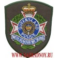 Нашивка Queensland police