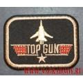 Нашивка с термоклеем TOP GUN