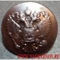 Пуговица ФСИН черного цвета 22 мм