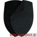 Липучка черного цвета для шевронов полиции