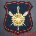 Шеврон для парадной формы военнослужащих Управления военных представителей МО РФ