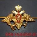 Эмблема войск ВКО на тулью фуражки