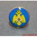 Миниатюрный значок с эмблемой МЧС России