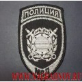 Нашивка на рукав ПОЛИЦИЯ подразделения ООП для специальной формы