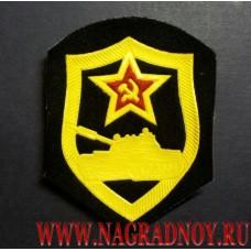 Нашивка ВС СССР Танковые войска