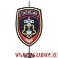 Вымпел с эмблемой Вневедомственной охраны МВД России