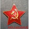 Звезда Советской Армии на фуражку