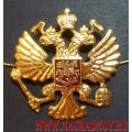 Эмблема на тулью фуражки Герб России
