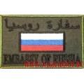 Нарукавный знак сотрудников ЦСН Заслон СВР России