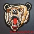 Нашивка Рычащий медведь