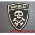 Нашивка war boss
