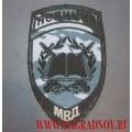 Шеврон вышитый Учебные заведения в системе МВД камуфляж Город