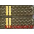 Погоны с вышитыми лычками звание младший сержант