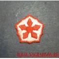 Нашивка РЖД звезда для рубашки или блузки