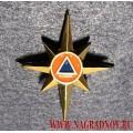 Петличная эмблема МЧС России нового образца