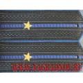 Погоны ФСБ с вышитыми звездами звание младший лейтенант