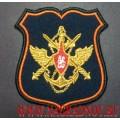 Нарукавный знак должностных лиц Генерального штаба ВС РФ для парадного кителя