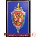 Рельефный магнит с эмблемой  УФСБ России по г. Москве и Московской области
