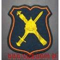 Нарукавный знак военнослужащих по принадлежности к аппарату НГШ для парадного кителя