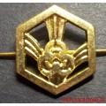 Петличная эмблема войск РХБЗ