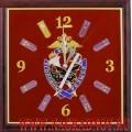 Настенные часы с эмблемой Уголовного розыска