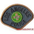 Нашивка с термоклеем Los Angeles Police