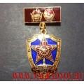 Нагрудный знак Кремлевский полк с двумя орденами