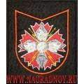 Шеврон ЦА ГУ ГШ ВС РФ по приказу 300 для офисной формы черного цвета
