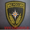 Шеврон МЧС России шелковые нити