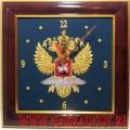 Настенные часы с эмблемой МИД России