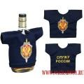 Рубашка-сувенир с вышитой эмблемой ФСБ России